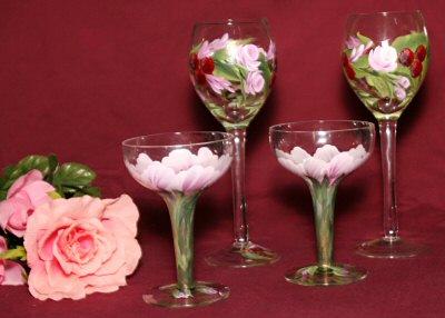 Wine Glasses/Weddings